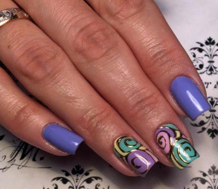 Дизайн ногтей нейл – арта фото