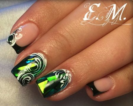 Дизайн ногтей узоры фото красивого маникюра