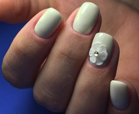 Дизайн ногтей цветы фото красивого маникюра