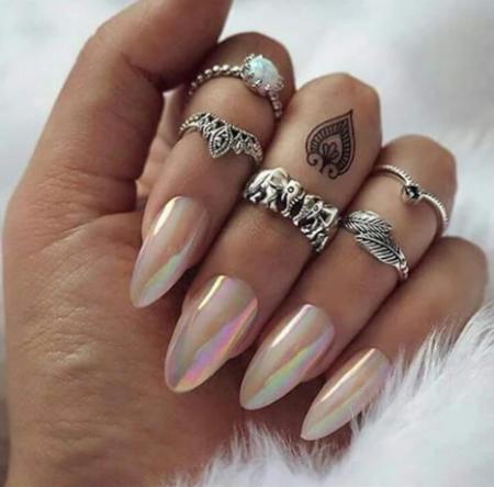 Фото ногтей модного маникюра –