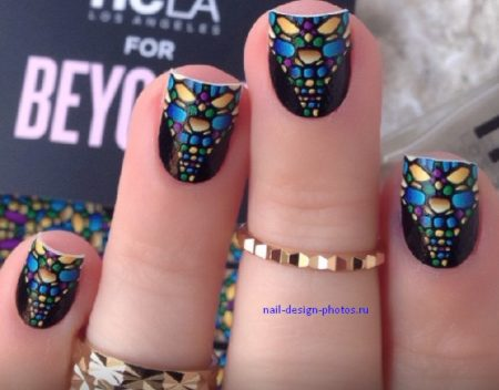 Модные ногти фото