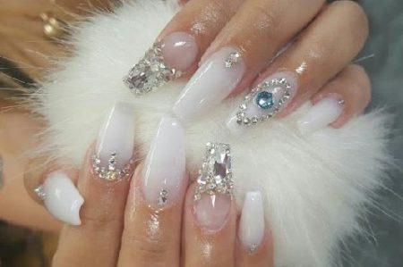 Фото ногти пуанты. Модный дизайн ногтей сезона