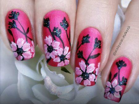Модный дизайн ногтей-32 фото