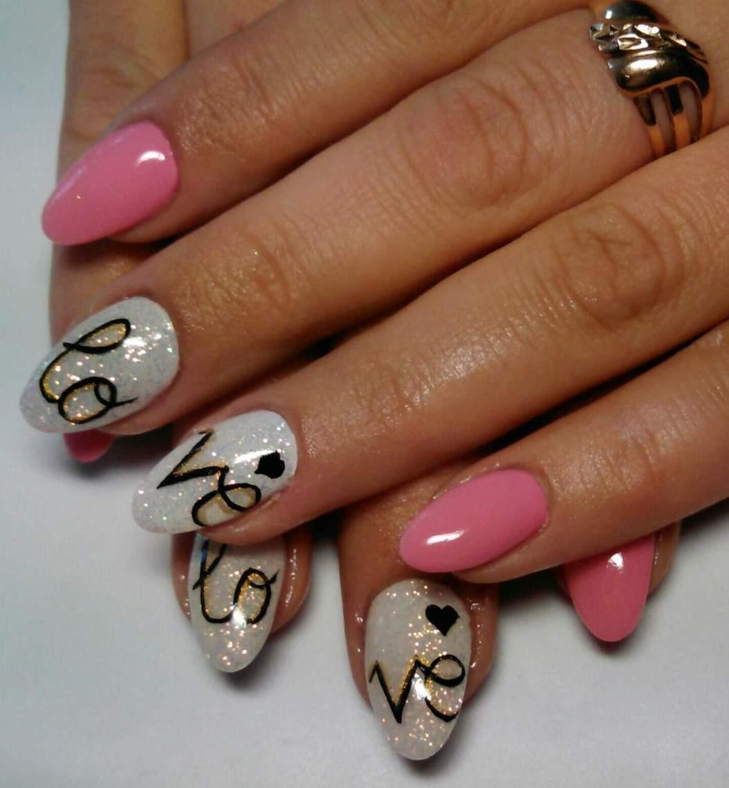 Ну очень красивый дизайн ногтей фото