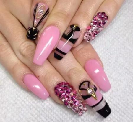 Красивые ногти фото – модный дизайн красивого маникюра