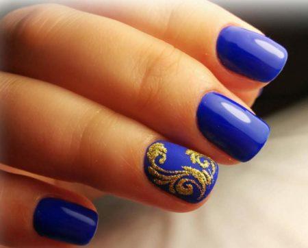 Модный дизайн ногтей – красивые ногти фото.