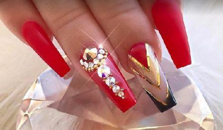 Модные формы ногтей сезона-77 фото