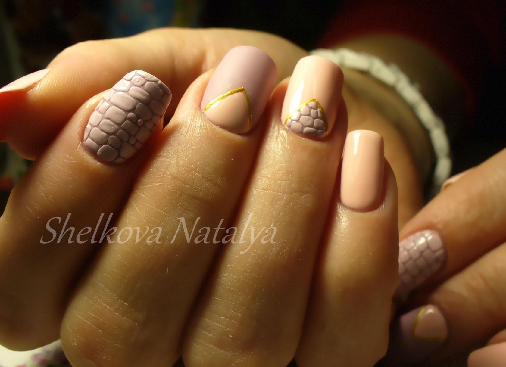 Оригинальный дизайна ногтей фото