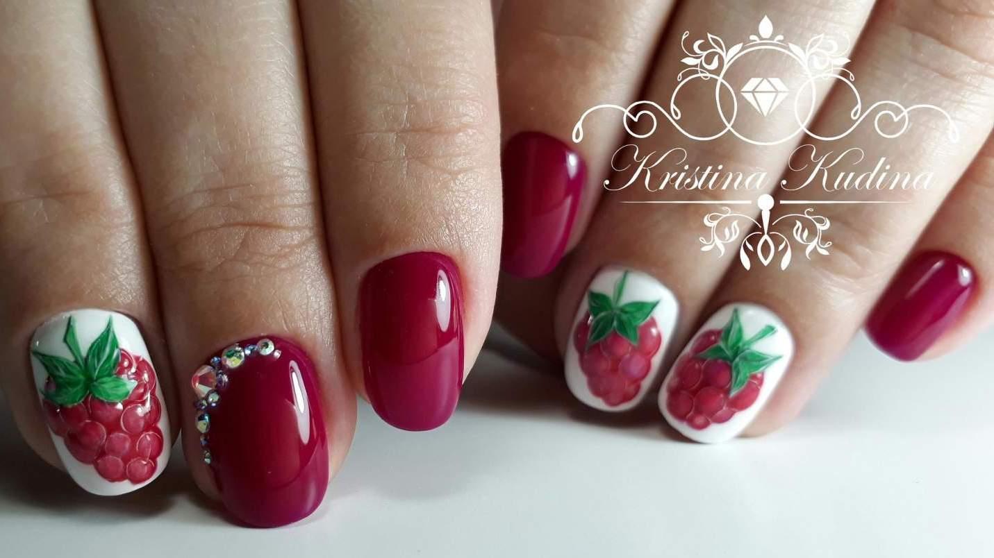 Дизайн конфетти на ногтях фото