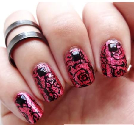 Дизайн ногтей с рисунком