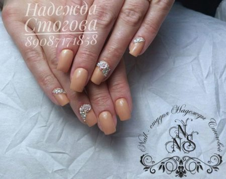 красивые нежные ногти
