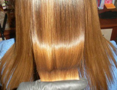Ботокс для волос фото