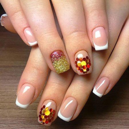 дизайн ногтей с камифубиками фото