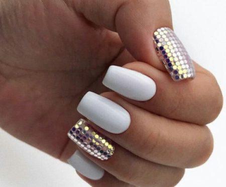 Ногти с камифубиками