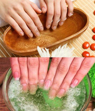 Укрепляющие ванночки для ногтей в домашних условиях: рецепты, правила проведения