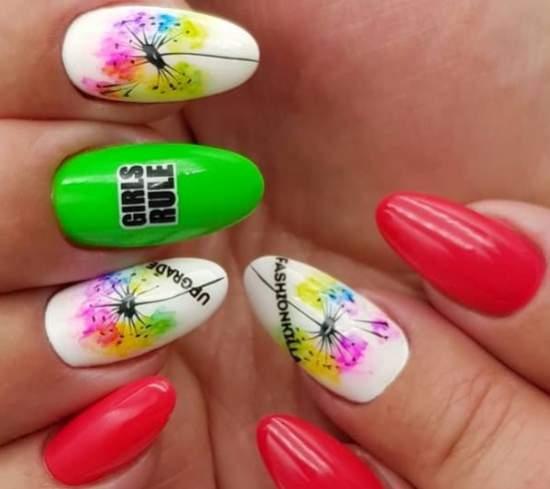 akvarelnyj-manikyur-2 Очень красивый дизайн ногтей - 453 фото шикарного маникюра
