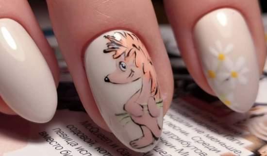 akvarelnyj-manikyur-21 Очень красивый дизайн ногтей - 453 фото шикарного маникюра