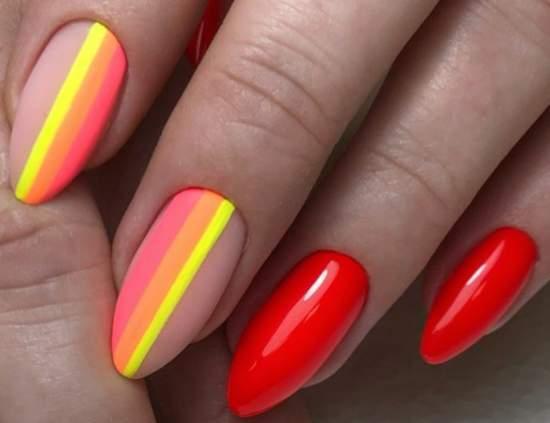 Яркие и красивые ногти