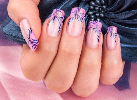 френч-фото дизайна ногтей