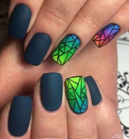 Модный дизайн ногтей 2017-95 фото идей маникюра