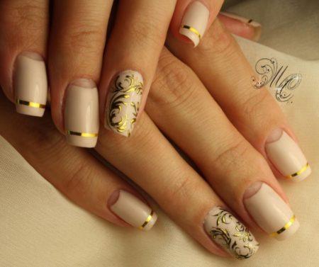 Красивые ногти,ногти фото, популярный дизайн ногтей