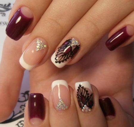 """Модный дизайн ногтей """"Лунный маникюр"""""""