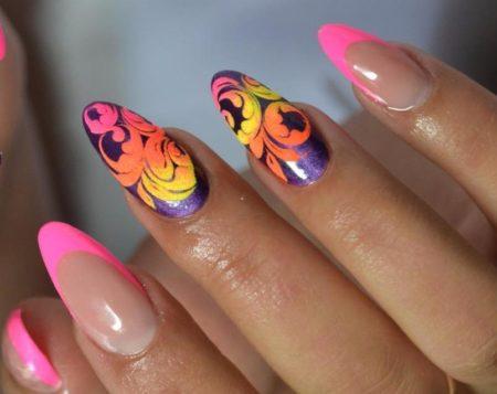 Дизайн ногтей изысканного маникюра