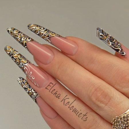 Красивый дизайн ногтей