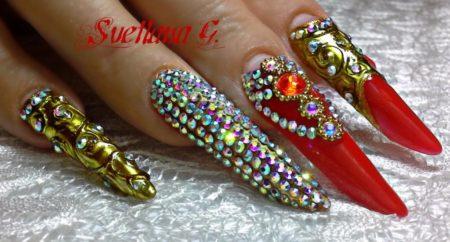 Дизайн ногтей стильного маникюра