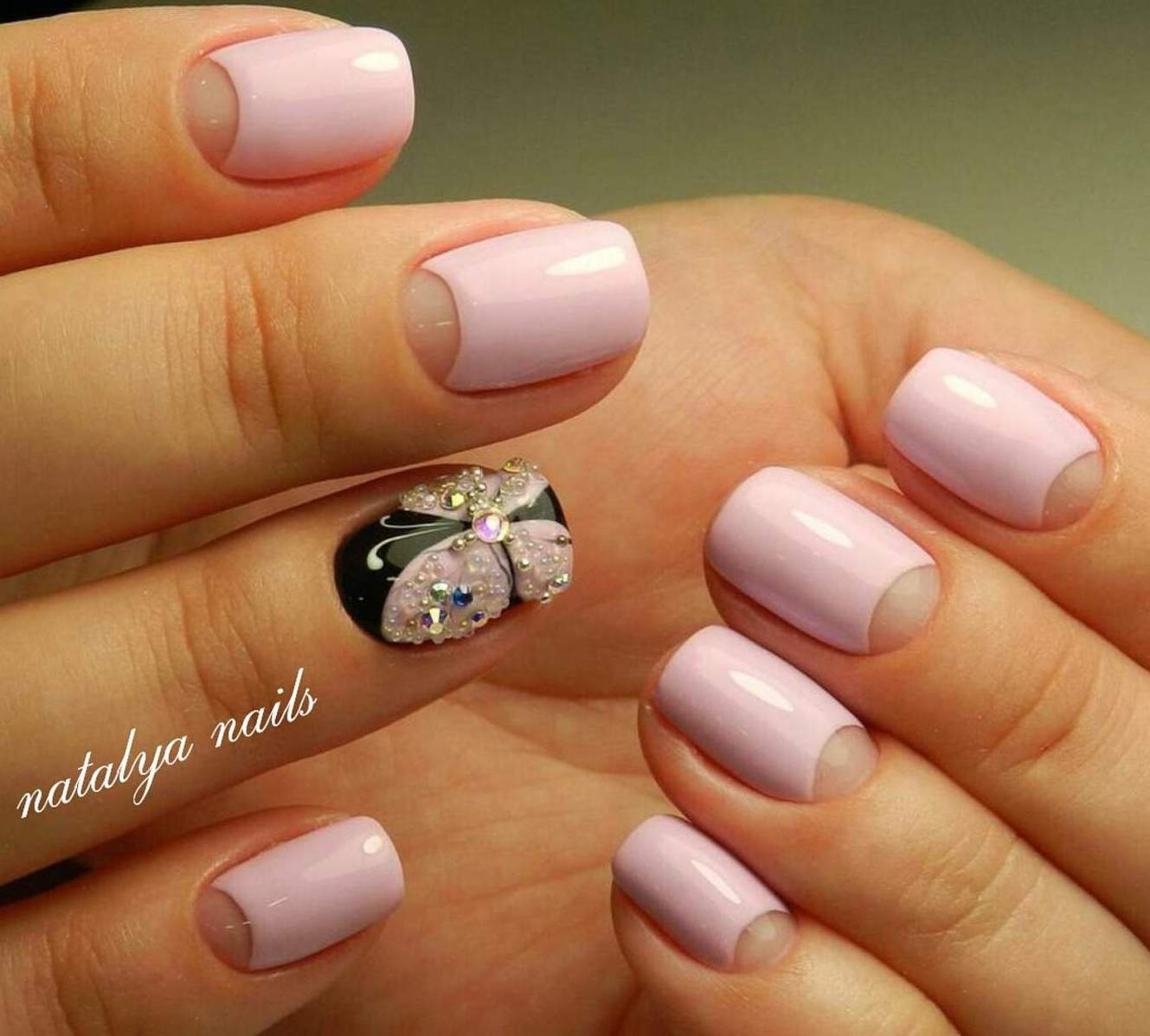 Красивый Матовый Маникюр На Короткие Ногти Фото