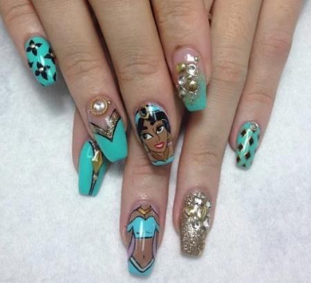 Фото ногтей модного маникюра