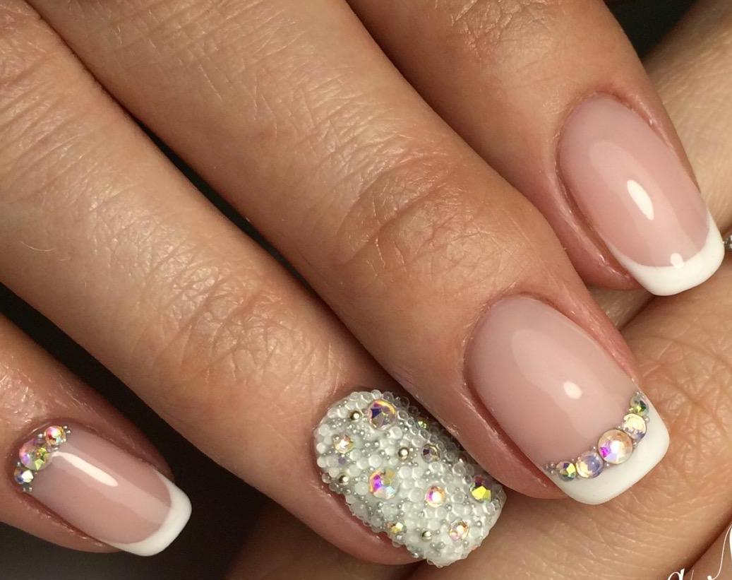 Красивый Маникюр Розовые Ногти