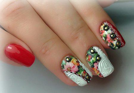 Модный дизайн ногтей фото