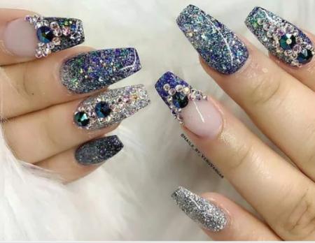 Модные формы ногтей сезона с дизайном