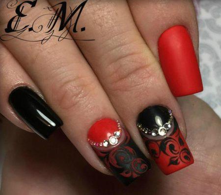 Дизайн ногтей эксклюзивный