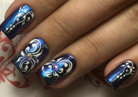 Дизайн ногтей фото - эксклюзивный маникюр