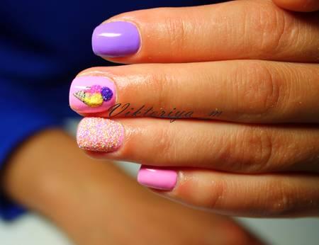 красивый дизайн ногтей лето