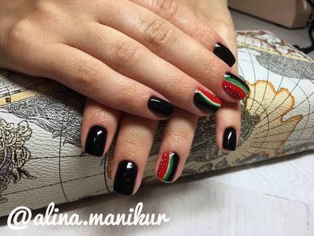 фото дизайна ногтей на лето