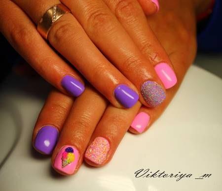 Фото ногтей на лето