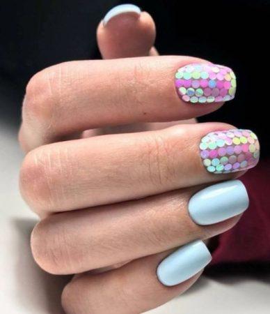 Ногти Дизайн Зимний Вариант Фото