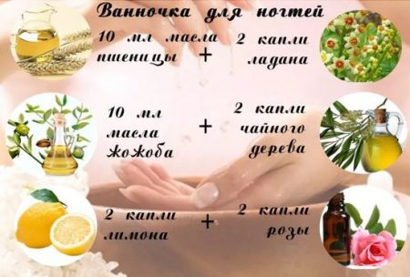 ванночка для ногтей с маслами
