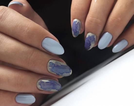 Стильный дизайн ногтей 2018-2019: фото маникюра