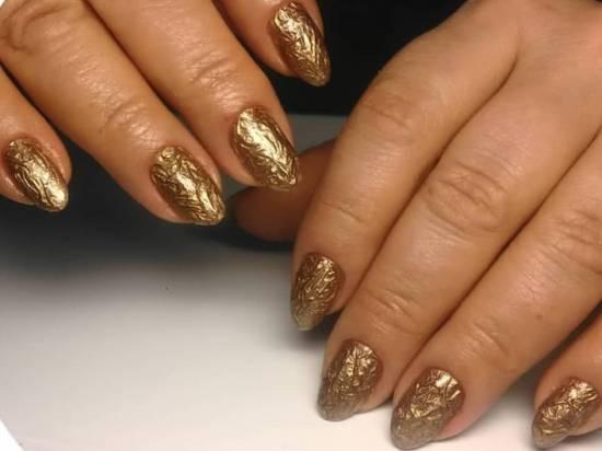 Хромовые ногти