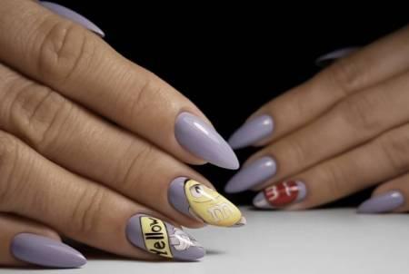 M&M's на ногтях