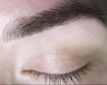 Микроблейдинг бровей: отличие от татуажа и пудрового напыления, фото до и после заживления