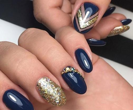 Дизайн ногтей с золотом: интересные варианты