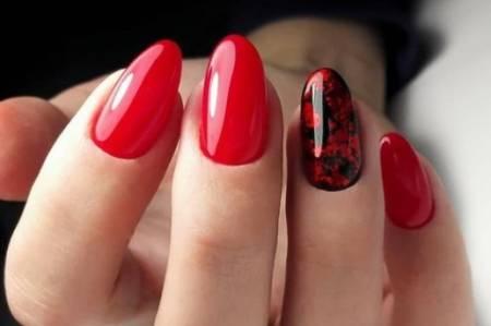 черно-красный дизайн