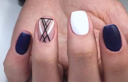 Дизайн ногтей паутинка: создаем паучий нейл-арт самостоятельно