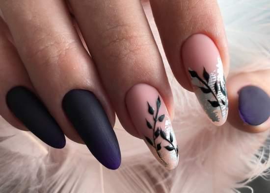 дизайн для длинных ногтей
