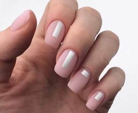 матовые ногти